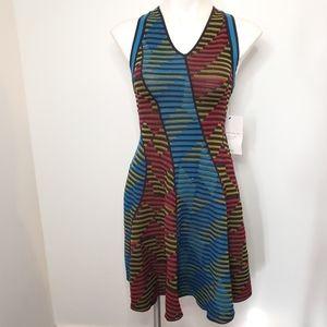 Missoni Striped Knit Racerback Dress